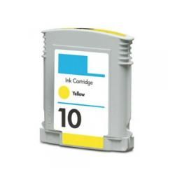 Remanufactured HP C4842A (HP 10) inkjet cartridge - yellow