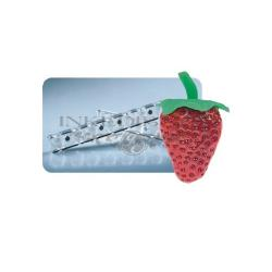 Chocolate Candy Mold - 3D Strawberry Shape