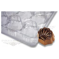 Non-Stick Transparent Chocolate Mold - Sea-Shell for PP-1018