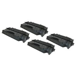 Remanufactured/Compatible Canon 119 II toner cartridges - 4-pack