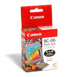Original Canon BC-06 inkjet cartridge - photo