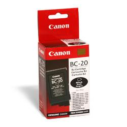 Original Canon BC-20 inkjet cartridge - black