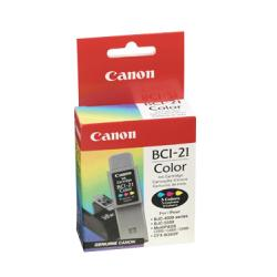 Original Canon BCI-21Cl inkjet cartridge - color