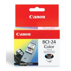 Original Canon BCI-24C inkjet cartridge - color