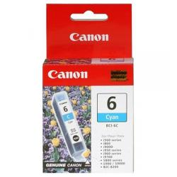 Original Canon BCI-6C inkjet cartridge - cyan