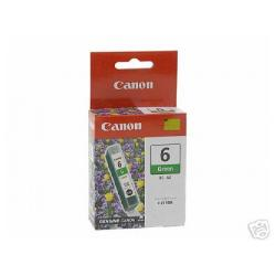 Original Canon BCI-6G inkjet cartridge - green
