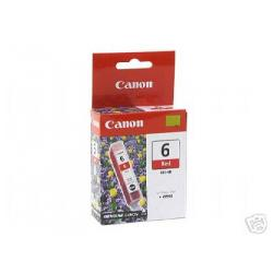 Original Canon BCI-6R inkjet cartridge - red
