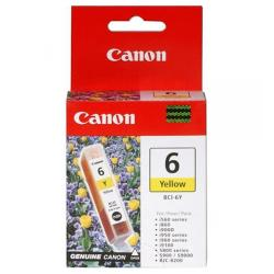 Original Canon BCI-6Y inkjet cartridge - yellow