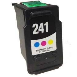 Remanufactured Canon CL-241 inkjet cartridge - color