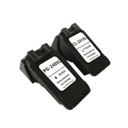 Remanufactured inkjet cartridges Multipack for Canon PG-240XL / CL-241XL - 2 pack