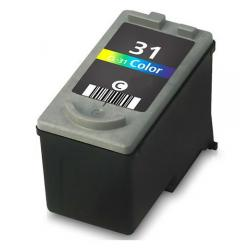 Remanufactured Canon CL-31 inkjet cartridge - color