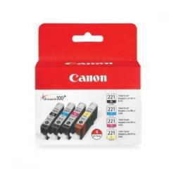 Original Canon 2946B004 (CLI-221) Multipack - 4 pack