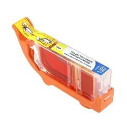 Compatible inkjet cartridge for Canon CLI-221Y - yellow