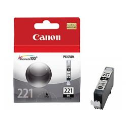 Original Canon CLI-221Bk inkjet cartridge - black