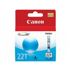 Original Canon CLI-221C inkjet cartridge - cyan