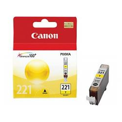 Original Canon CLI-221Y inkjet cartridge - yellow