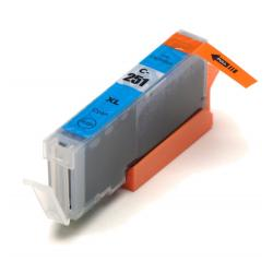 Compatible inkjet cartridge for Canon CLI-251C XL - cyan