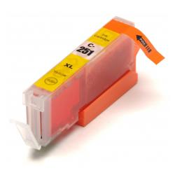 Compatible inkjet cartridge for Canon CLI-251Y XL - yellow