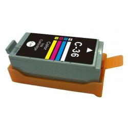 Compatible inkjet cartridge for Canon CLI-36 - color