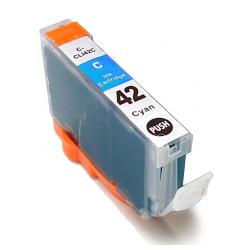 Compatible inkjet cartridge for Canon CLI-42C - cyan