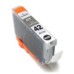 Compatible inkjet cartridge for Canon CLI-42GY - gray