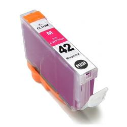 Compatible inkjet cartridge for Canon CLI-42M - magenta