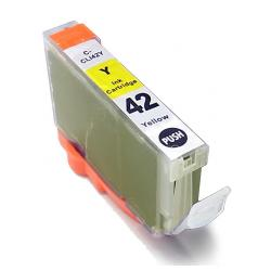 Compatible inkjet cartridge for Canon CLI-42Y - yellow