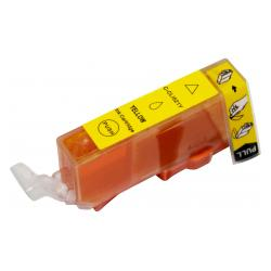 Compatible inkjet cartridge for Canon CLI-521Y - yellow