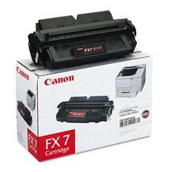 Original Canon 7621A001AA (FX-7) toner cartridge - black