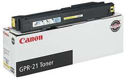 Original Canon 0259B001AA (GPR-21) toner cartridge - yellow
