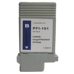 Compatible inkjet cartridge for Canon PFI-101B - blue