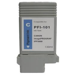 Compatible inkjet cartridge for Canon PFI-101C - cyan