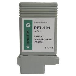 Compatible inkjet cartridge for Canon PFI-101G - green