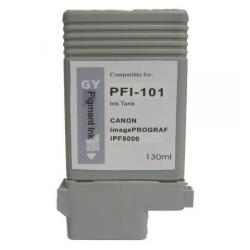 Compatible inkjet cartridge for Canon PFI-101GY - gray