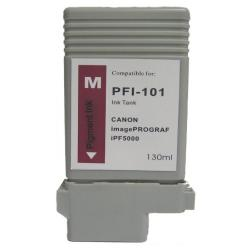 Compatible inkjet cartridge for Canon PFI-101M - magenta