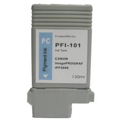 Compatible inkjet cartridge for Canon PFI-101PC - photo cyan