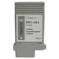 Compatible inkjet cartridge for Canon PFI-101PGY - photo gray