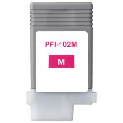 Compatible inkjet cartridge for Canon PFI-102M - magenta