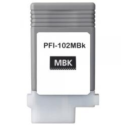 Compatible inkjet cartridge for Canon PFI-102MBK - matte black