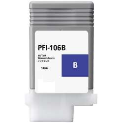 Compatible inkjet cartridge for Canon PFI-106B - blue