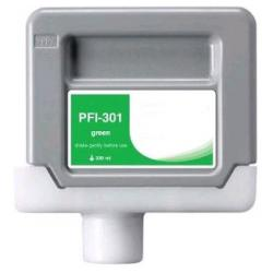 Compatible inkjet cartridge for Canon PFI-301G - green