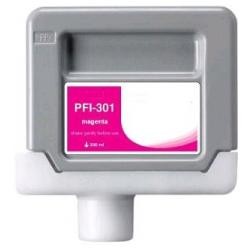 Compatible inkjet cartridge for Canon PFI-301M - magenta