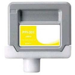 Compatible inkjet cartridge for Canon PFI-301Y - yellow