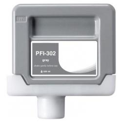 Compatible inkjet cartridge for Canon PFI-302GY - gray