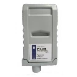 Compatible inkjet cartridge for Canon PFI-704B - blue