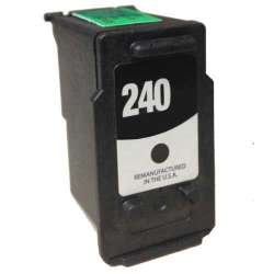 Remanufactured Canon PG-240 inkjet cartridge - black