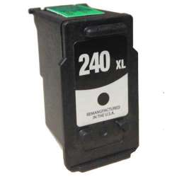 Remanufactured Canon PG-240XL inkjet cartridge - high capacity black