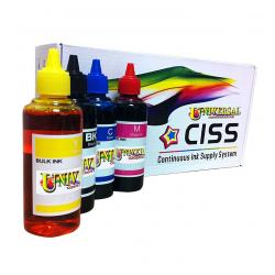 Epson T252 Continuous Ink System PIGMENT REFILL PACK (for Epson WF-3620 / WF-3640 / WF-7110 / WF-7610 / WF-7620)