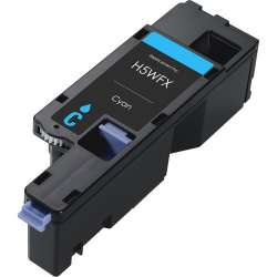 Compatible Dell 593-BBJU (H5WFX) toner cartridge - cyan
