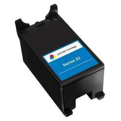Compatible inkjet cartridge for Dell T092N (Series 22) - high capacity color